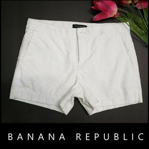 Banana Republic Woman Texture Dress Shorts Size 2